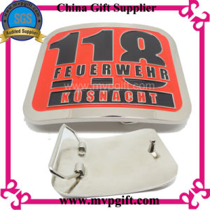 Customized Metal Belt Buckle with Customer Logo pictures & photos