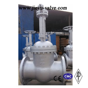 DIN 3352 Pn25 Wcb Gate Valve (Z40H) pictures & photos