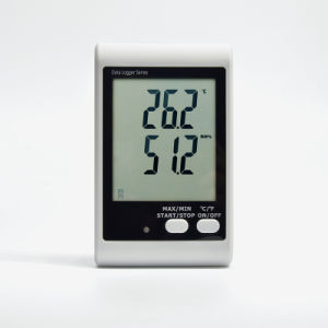 Dwl-21, Sound and Light Alarm Big Screen Temperature Humidity Data Logger pictures & photos