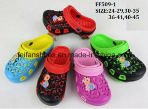 Latest Children Leisure EVA Garden Shoes Comfortable Sandals (FF509-1) pictures & photos