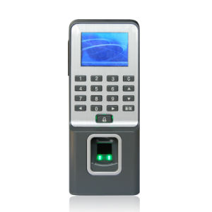 Multi Language Fingerprint Access Control System Support 50 Time Zones, Wired Door Bell Connection (F09) pictures & photos