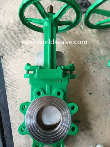 Stainless Steel Worm Gear Knife Gate Valve (WDS) pictures & photos