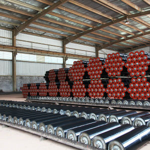 Carbon Steel Conveyor Roller with Painting for Belt Conveyor System pictures & photos