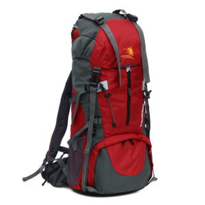 High Quality 70L Waterproof Nylon Outdoor Camping Backpack Bag (YKY7299) pictures & photos