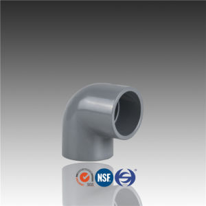 Plastic Pipe Fittings PVC 90 Degree Elbow pictures & photos
