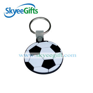 High Quality OEM 3D Logo Soft PVC Keychain for Promotion Gift pictures & photos