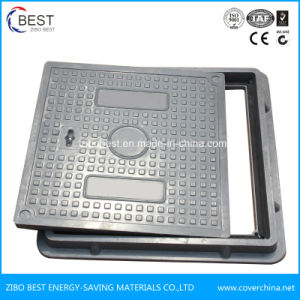 Made in China A15 SMC Composite Resin Square 500X500mm Manhole Cover pictures & photos
