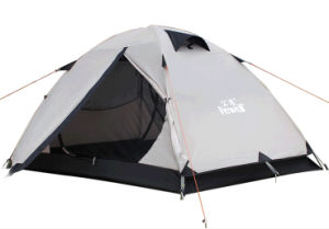 Hight Quality Wholesale 2 People Outdoor Camping Double Tent pictures & photos