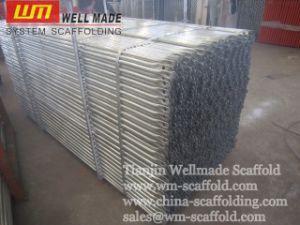 Construction Building Frame System Saffolding Cross Brace pictures & photos