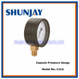 Mbar Low Pressure Gauge, Capsule Gauge pictures & photos