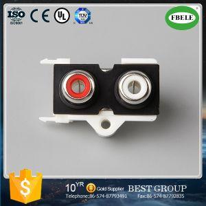 Low Price RCA Pin Jack Series AV Socket pictures & photos