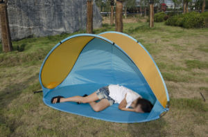 Carries Outdoor Portable Sunshelter Beach Tent for Camping