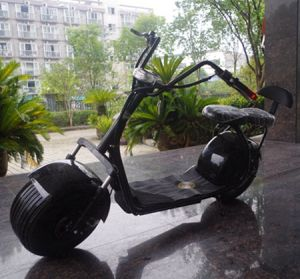China Factory 1000W Fat Tyre Electric Scooter City Coco (JY-ES005) pictures & photos