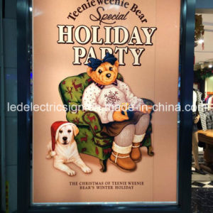 LED Advertising Fabric for Backlit Light Box pictures & photos