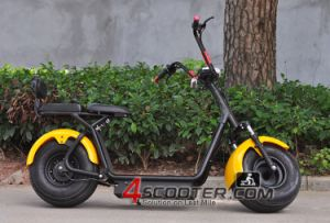 2016 Best Popular Citycoco Scooter, 2 Wheel Harley Electric Scooter with Lead Acid Battery pictures & photos