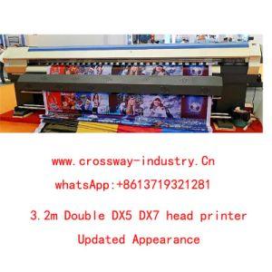 3.2m Double Dx5 Dx7 Head Eco Solvent Outdoor Printer