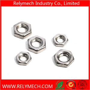 Stainless Steel Hex Thin Nut M3-M24 pictures & photos
