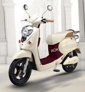 48V 350W Brushess Motor Electric Moped with 16′′ Tire (ES-013) pictures & photos