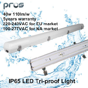 600mm/1200mm/1500mm IP65 LED Tri-Proof Light 40W for Industrial/Parking Lot pictures & photos