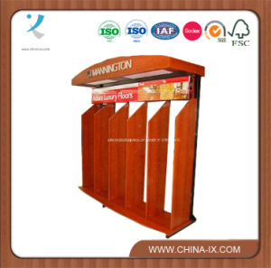 Wooden Display Rack for Floor (Sr-Hj11) pictures & photos