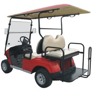 Electric Golf Passenger Mover, with Rear Foldable Seat, Eg2028ksz pictures & photos