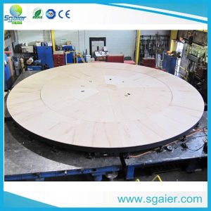 Rolling Stage Rotation Stage Whirling Stage Rotary Stage From Sgaier Stage pictures & photos