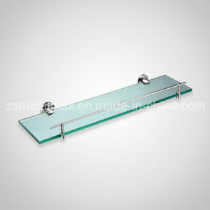Stainless Steel Bathroom Wall Mounted Glass Shelf (BLJ004) pictures & photos