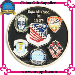 Customized Metal Challenge Coin with 3D Logo pictures & photos