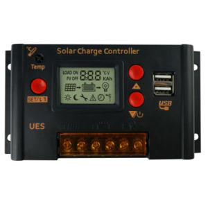 Solar Charge Controller LCD Display with Dual USB 5V Output pictures & photos