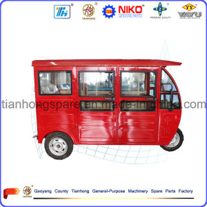Tricycle for Electric Powered 3 Wheeler Able to Carry Passengers pictures & photos