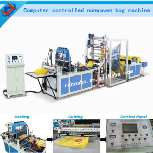 PP Nonwoven Fabric Bag Making Machine pictures & photos