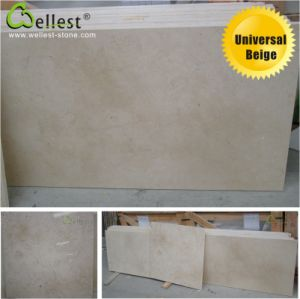 Universal Light Beige Marble Tile/Step pictures & photos