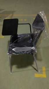 High Quality Steel New School Writing Pad Office Plastic Chair pictures & photos
