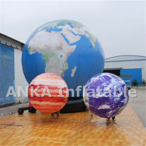 Big Inflatable Earth Planet Balloon with All Digital Print pictures & photos