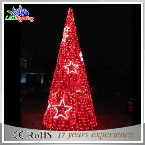 Indoor Decoration Simple LED Christmas Cone Tree Light pictures & photos