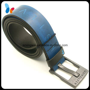 Custom Logo PU Leather Belts Factory pictures & photos