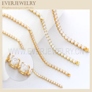 1.5mm Zircon Cup Chain for Garment Trimming pictures & photos