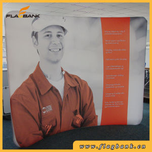 8FT Curved Tension Fabric Backwall Display, Pop up Tradeshow Stand Banner pictures & photos