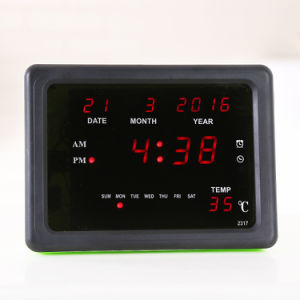 [Ganxin] New Meter Design Switch Control LED Calendar Digital Timer pictures & photos