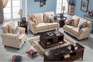 modern living room furniture 1+2+3 fabric sofa pictures & photos
