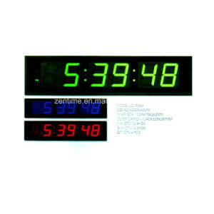 Large LED Digital Electronic Wall Time Clock pictures & photos
