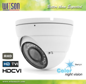 960p Ahd Hdtvi Hdcvi Analog HD CCTV Vandalproof Starlight Color Night Vision Camera pictures & photos