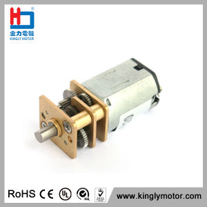 3V 12mm Mini Electrical Motor DC Gear Motor for Robots pictures & photos