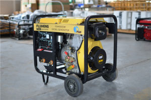 3kVA/5kVA/6kVA Portable Diesel Welding Generator for Home Use pictures & photos