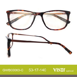 Fashion Acetate Eye Glasses Optical Frames (63-C) pictures & photos