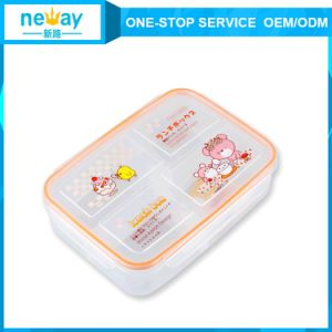 Wholesale Promotional Food Grade Rectangle White Lunch Box pictures & photos
