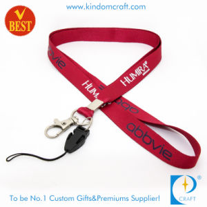 Colorful Printed Promotional Neck Lanyard with Cellphone Strap pictures & photos