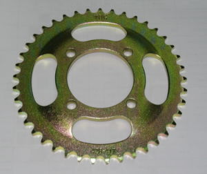 Yog Motorcycle Parts Motorcycle Rear Sprocket Cg150 Curved Bowl Type pictures & photos
