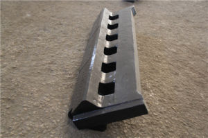High Manganese Steel Casting Bearing Strike Anvil pictures & photos