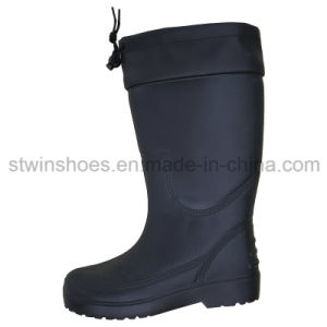 Men &Women Industrial Safety PVC Rain Shoes with Waterproof (ST1644)